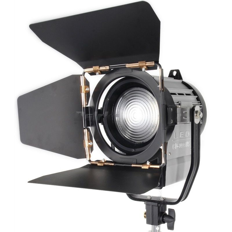 ASHANKS 100 Watt LED Spot-Licht Dimmbar Bi-color Spotlight Studio Fresnel LED-Licht 3200-5500 Karat für Studio Foto Video Beleuchtung