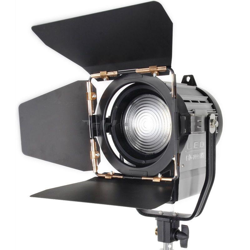 ASHANKS 100W LED Spot Light Dimmable Bi-color Spotlight Studio Fresnel LED Light 3200-5500K for Studio Photo Video Lighting