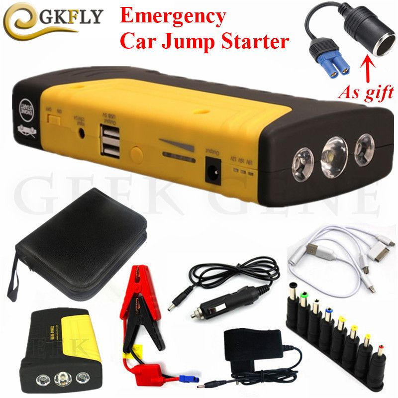 Multi-Function Car Jump Starter 12V 600A Peak Starting Device Power Bank Mini Car Starter For Car Battery Booster Auto Charger