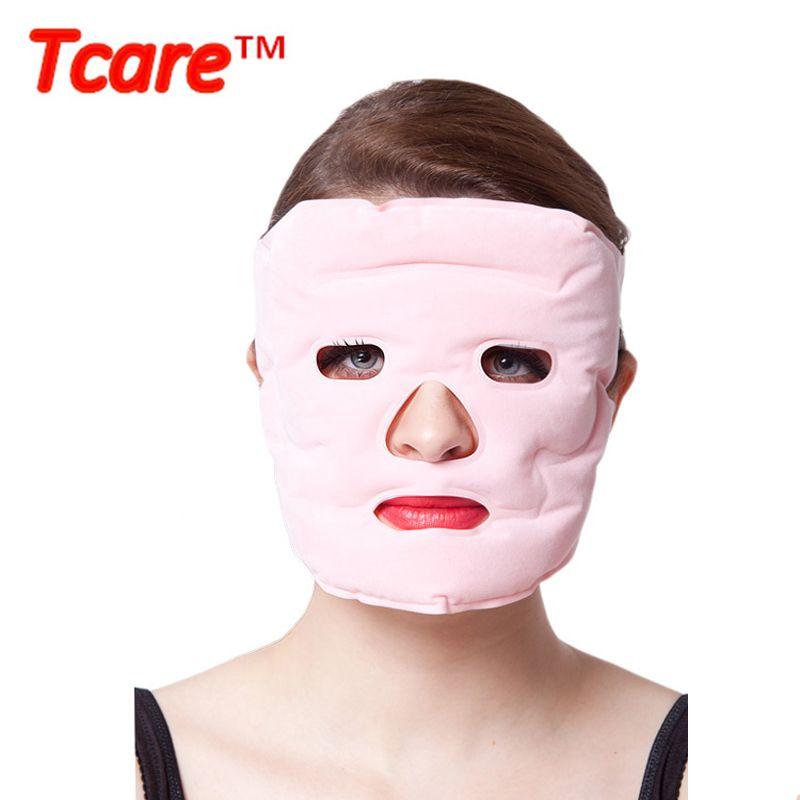 Tcare beauté masque de lifting Tourmaline thérapie magnétique Massage masque facial hydratant blanchissant masques faciaux