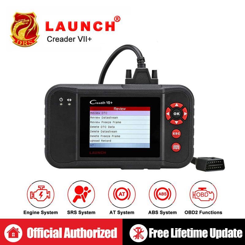 Launch Creader VII + Starten CRP123 Auto Code Reader Einführung X431 Creader VII Plus OBD2 Scanner OBDII Auto Diagnose Werkzeug ABS SRS