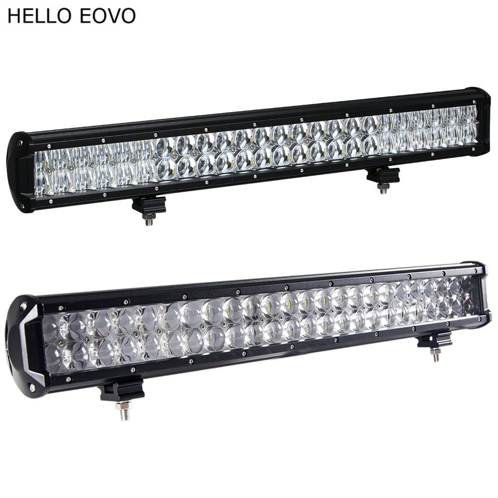 HELLO EOVO 22 Inch 240W 4D 5D LED Light Bar for Work Indicators Driving Offroad Boat Car Tractor Truck 4x4 SUV ATV
