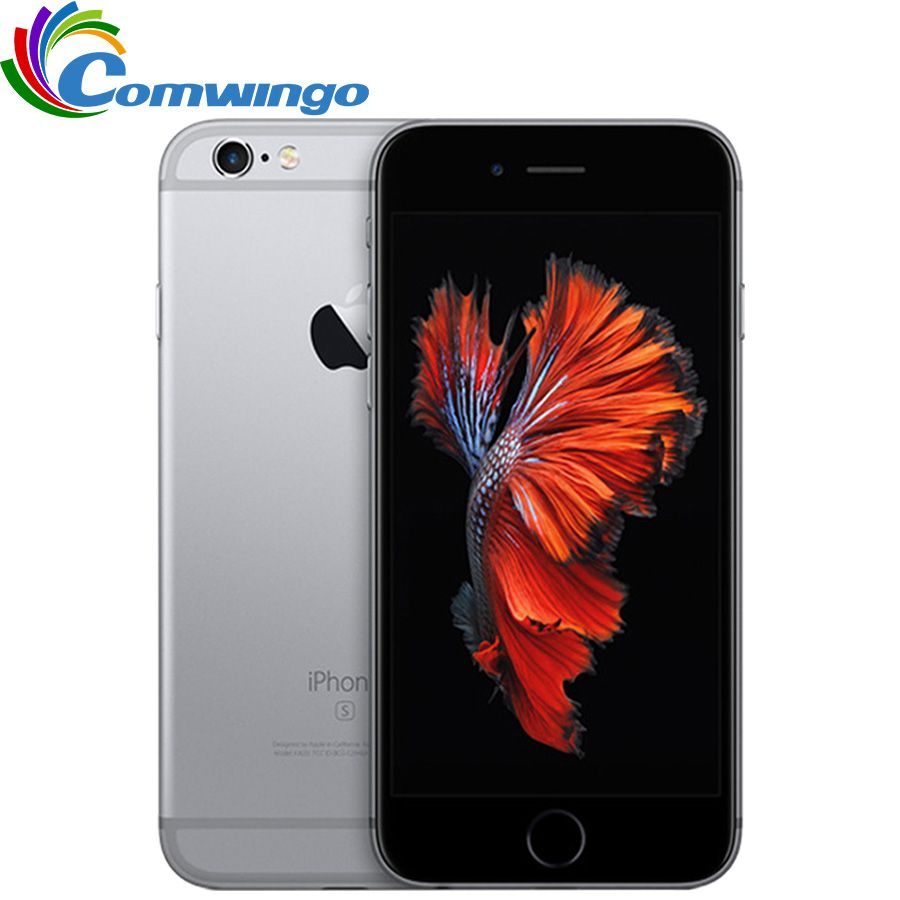 Original Unlocked Apple iPhone 6s iOS Dual Core 2GB RAM <font><b>16GB</b></font> 64GB 128GB ROM 4.7 12.0MP Camera IOS 9 4G LTE iphone6s Phone