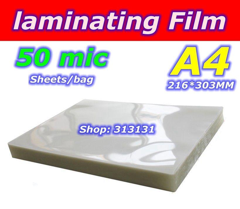 A4 taille Poudre revêtement stratification Plastifieuse film