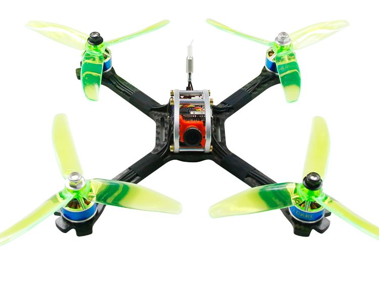 KINGKONG LDARC 200GT PNP 200mm FPV Racing Drone Quadcopter RC Racer W/ F4+ OSD Camera NO RX