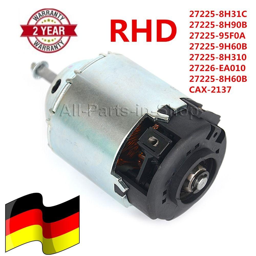 RHD & Clockwise Rotation HEATER BLOWER MOTOR for  X-TRAIL T30 & Maxima 2001-2015 OE#272258H31C, 27225-8H31C, 27225-8H310