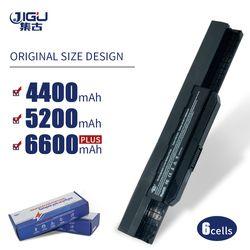 JIGU K53u ноутбук Батарея для Asus A32 K53 A42-K53 A31-K53 A41-K53 A43 A53 K43 K53 K53S X43 X44 X53 X54 X84 X53SV X53U X53B X54H