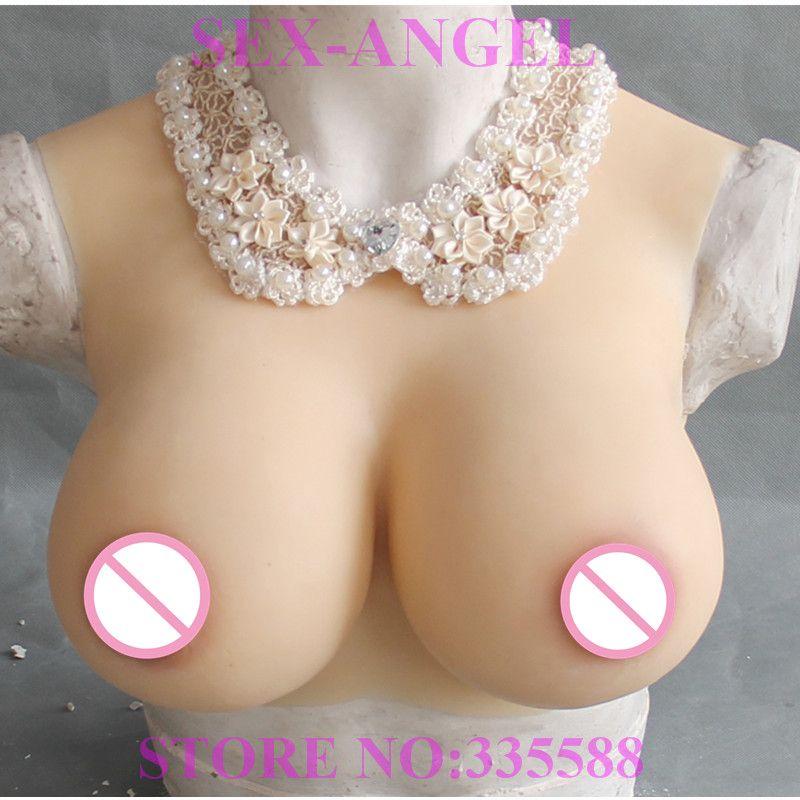 G TASSE Gefälschte Realistische Silikon Brust Formen Für Dragqueen Transgender Transen Crossdresser Drop Verschiffen