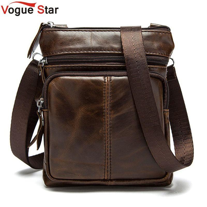 Vogue Star ! New Arrived  Brand genuine leather men bag fashion men messenger bag bussiness bag  BK7009
