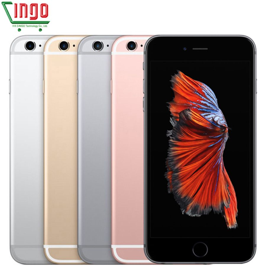 Original Apple iPhone 6S Dual Core 2GB RAM 16/64/128GB ROM IOS 4.7'' 12.0MP Camera Fingerprint LTE Used <font><b>Cell</b></font> Phone iPhone6s