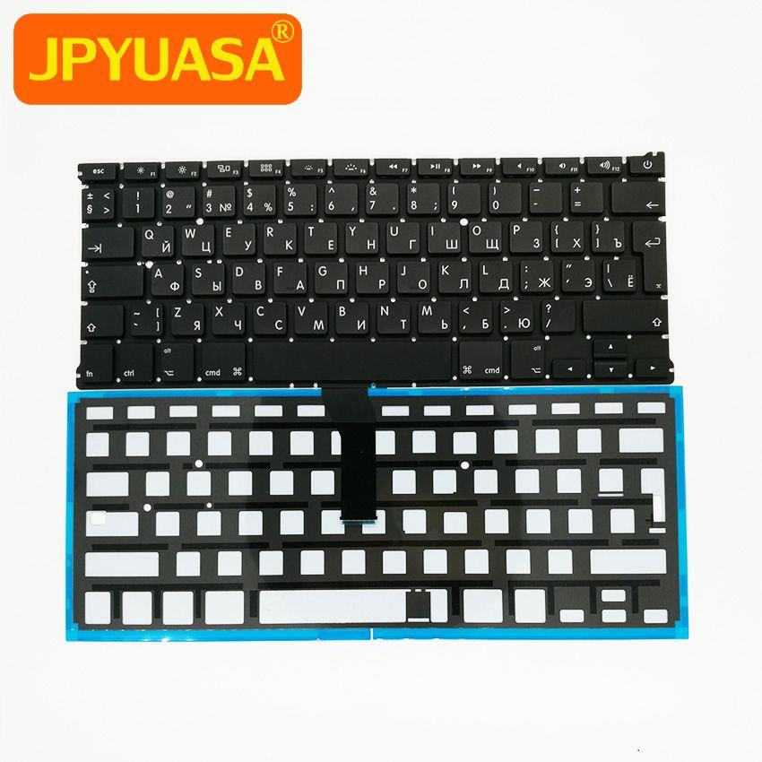Neue RU Russische tastatur + Hintergrundbeleuchtung Für MacBook Air 13,3