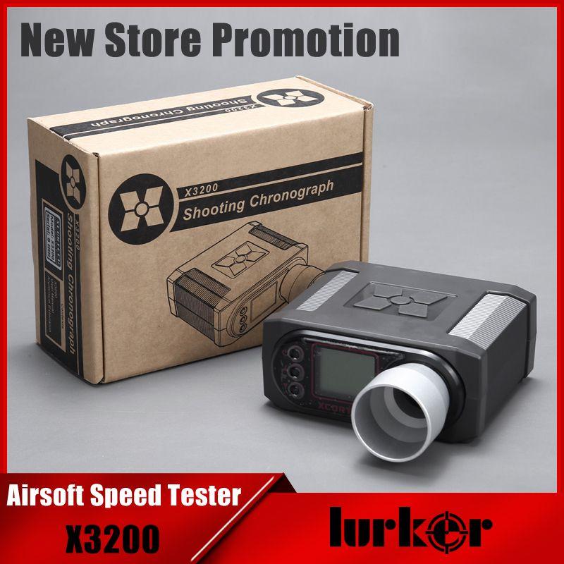 Großhandel X3200 Pellets Airsoft BB Geschwindigkeit Tester Schießen Chronograph Für Jagd Schießen Tester