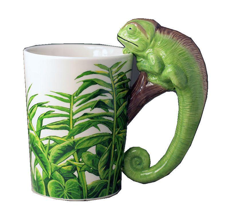 Hand painte Spanien eidechse Keramik Griff Wasser Tassen Milch Kaffeetassen Travel Souvenirs Becher Kreative Home Office Drink Geschenk
