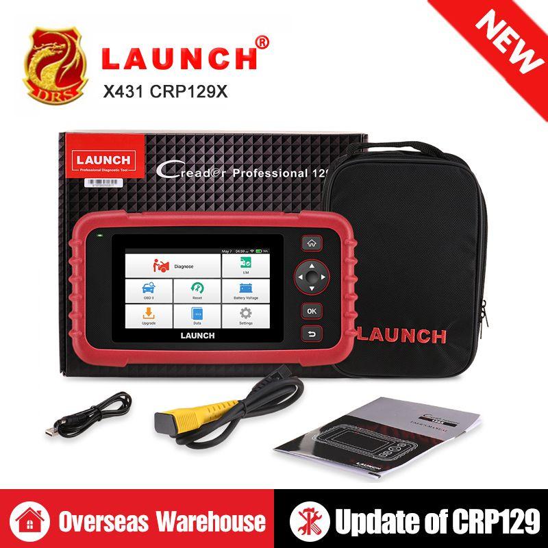 STARTEN X431 CRP129X OBD2 Scanner Auto Code Reader OBDII Diagnose Werkzeug ENG AT ABS SRS Öl Bremse SAS TMPS ETS automotive Werkzeug