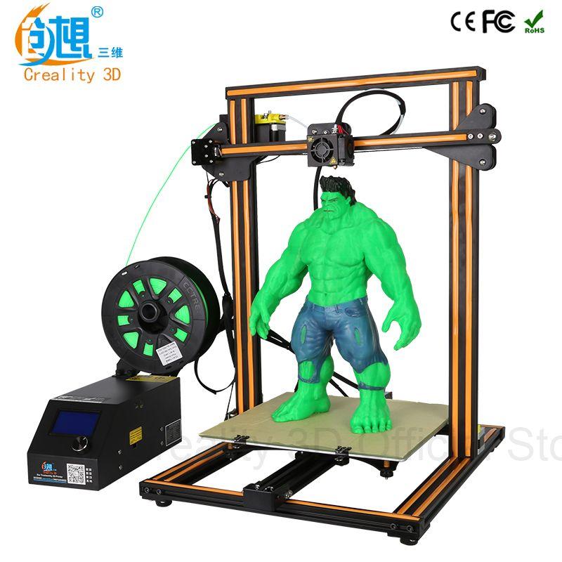 CREALITY 3D Offizielle CR-10S/CR-10 DIY 3d-drucker Kit 300*300*400mm Druck Größe Dual Z stange Filament Detektor/Sensor Optional