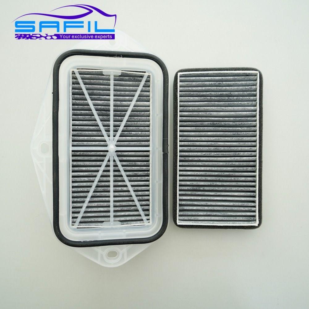 3 Holes Cabin carbon Filter for Vw Sagitar CC Passat Magotan Golf Touran Audi Skoda Octavia External Air Filter #ST100