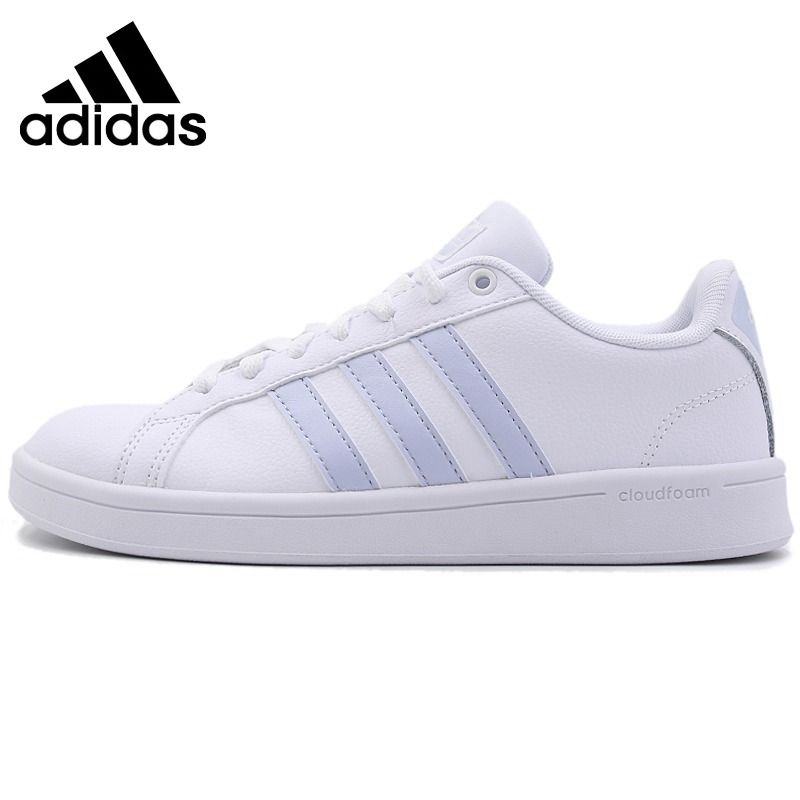 Original New Arrival 2018 Adidas NEO Label ADVANTAGE Women's Skateboarding Shoes Sneakers Outdoor Sports Hard Wearing B28095