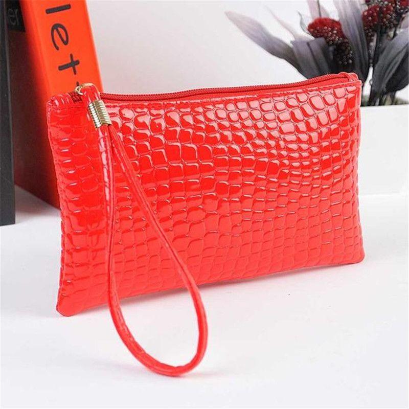 Ocardian женщин из кожи крокодила сумочка клатч портмоне челнока 180206