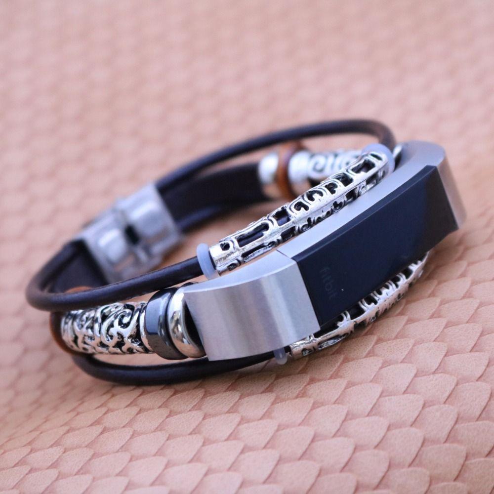 Pour Fitbit Alta/Alta H Bracelet Bracelet De Remplacement En Cuir Bracelet Wrist Band Bracelet Correas de reloj Drop Shipping