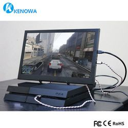 15.6 Inch Super Slim Portable Monitor PC 1920X1080 HDMI PS3 PS4 Xbox360 1080 P IPS LCD LED Display monitor untuk Raspberry Pi PS3/4