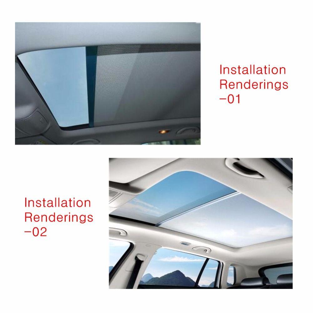 1K9877307A 5ND877307 Skylight shutter Sunroof sunshade curtain for VW Sharan New style Tiguan For Audi Q5