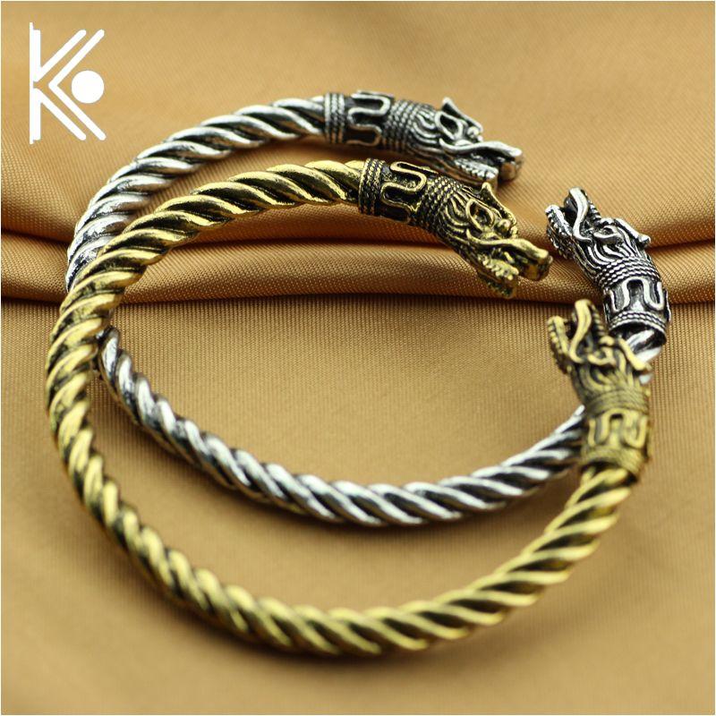 Бесплатная ePacket стиль 6 Викинги браслеты для мужчин Викинг в ювелирном Викинги Волк браслет для украшений Wolf