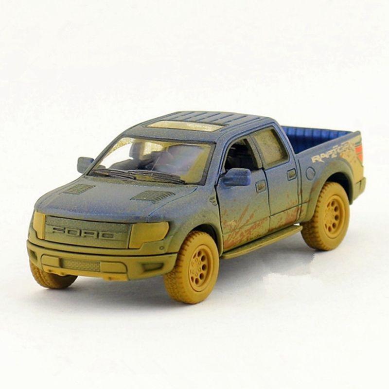 Versión de Arcilla Camión Diecast 1:46 Kinsmart Juguete, 12.5 cm de Camiones Modelo de Coche, tire hacia Atrás de Coches De Colección, Juguetes de los niños, Brinquedos Regalo