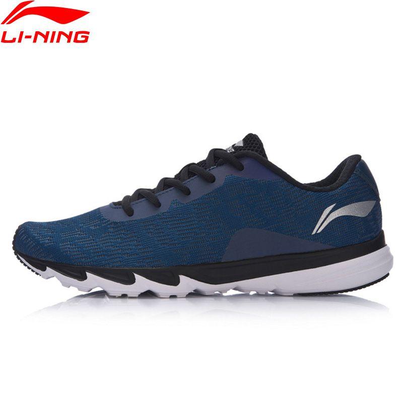 Li Ning Laufschuhe Männer Explosion Tragbare Licht Turnschuhe Comfort Reflektierende Futter Mesh Atmungsaktive Sportschuhe ARBM117 XYP549