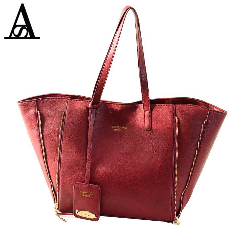 AITESEN Tote Clutch Handtaschen Frauen Berühmte Marken Designer Sac ein Haupt Mochila Feminina Bolsa De Couro Kors Canta Louis taschen