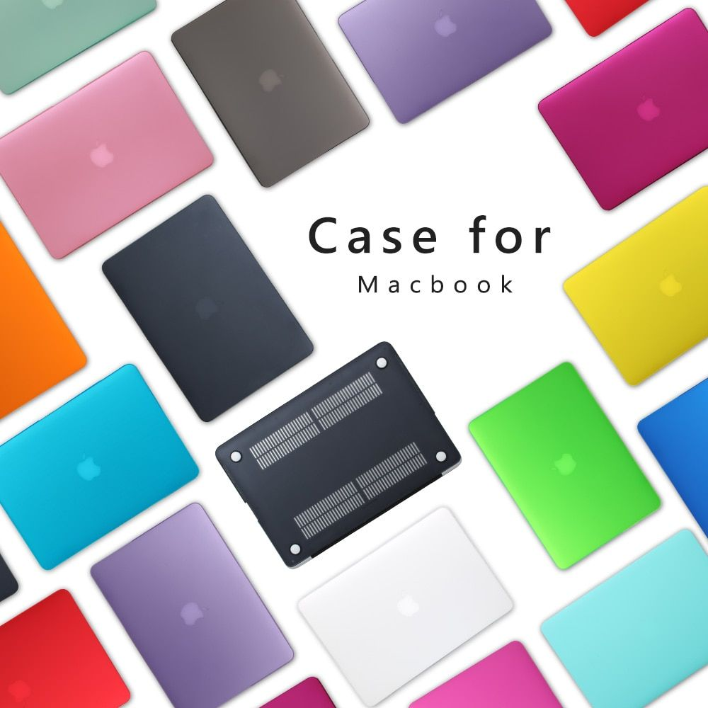 Premium New Matte Case For Apple <font><b>MacBook</b></font> Air 11 13 inch Laptop Sleeve for Mac book Pro 13 15 A1708 with Retina keyboard Cover
