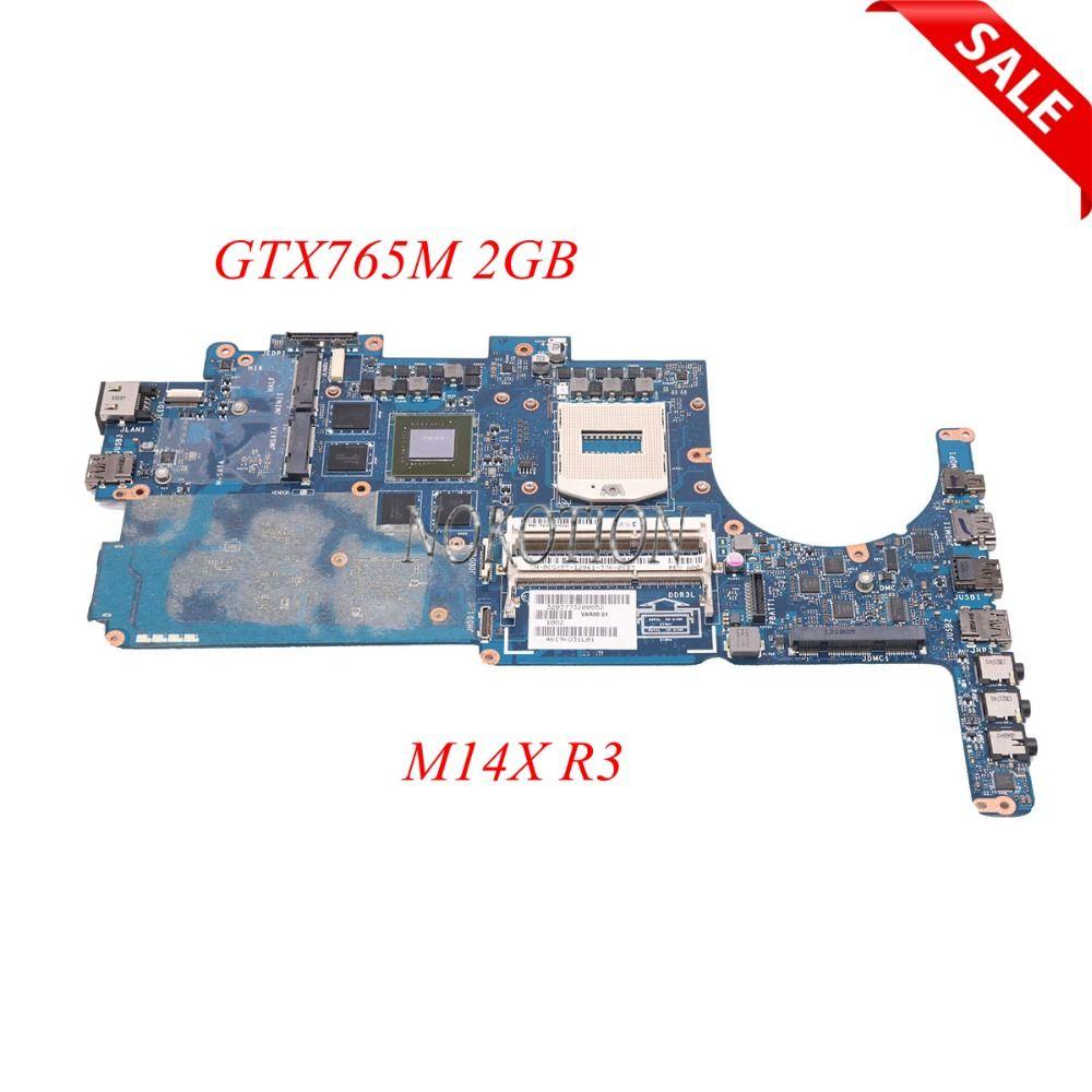 NOKOTION Laptop Motherboard Für Dell Alienware M14X R3 CN-0CGYDT 0 CGYDT VAR00 LA-9201P Wichtigsten Bord GTX765M 2 gb VOLL GETESTET