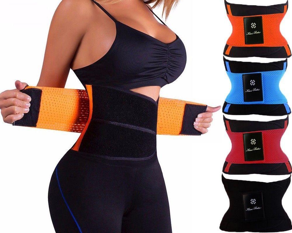 Miss Moly Sweat Waist Trainer Body Shape Shaper Xtreme Power Modeling <font><b>Belt</b></font> Faja Girdle Tummy Slimming Fitness Corset Shapewear