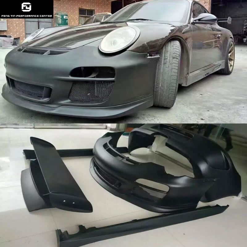 911 997.2 GT3 Style front bumper rear bumper side skirts rear spoiler for Porsche 911 Carrera 997.2 GT3 style Car body kit 08-12
