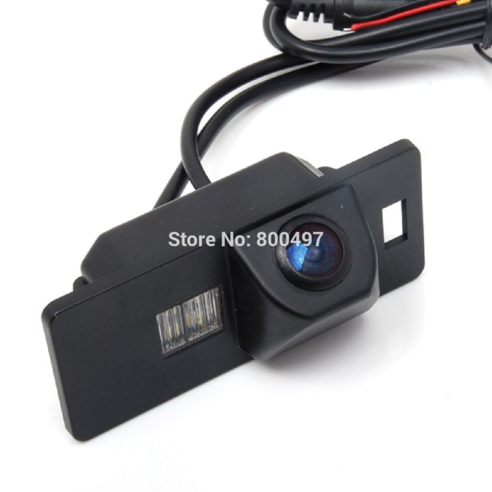 Car Rear View <font><b>Reverse</b></font> Parking Camera Waterproof Night Vision Camera for Audi A1 A3 A4 A5 A6 RS4 TT Q5 Q7 Volkswagen Passat R36