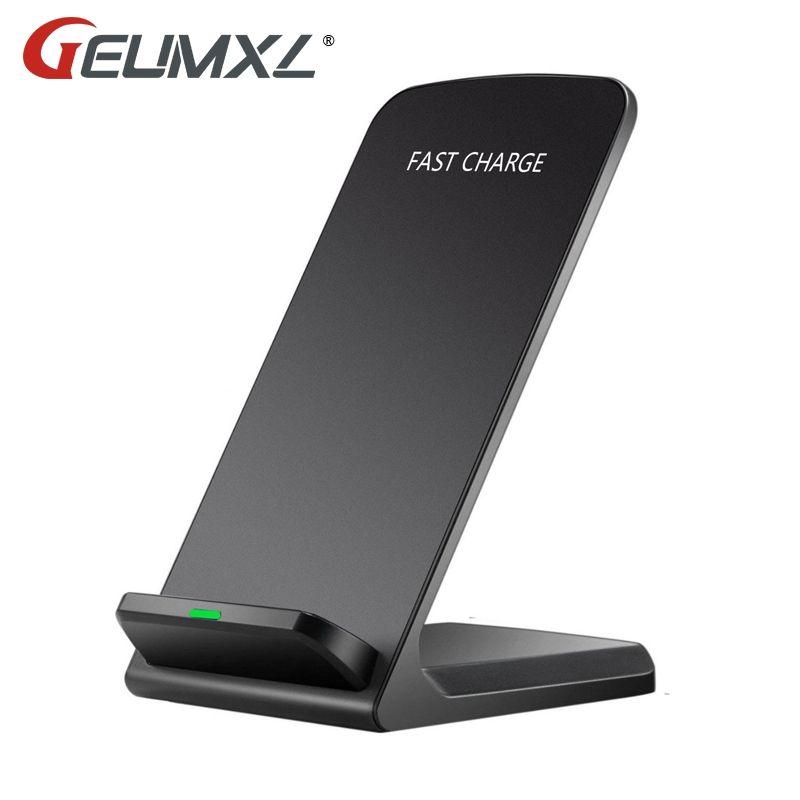GEUMXL Qi Sans Fil Rapide USB Rapide Chargeur Dock Support Pour Huawei P10 P9 Plus Xiaomi 5 Note 2 de Mélange Oneplus 950XL Pour iPhone 8 X