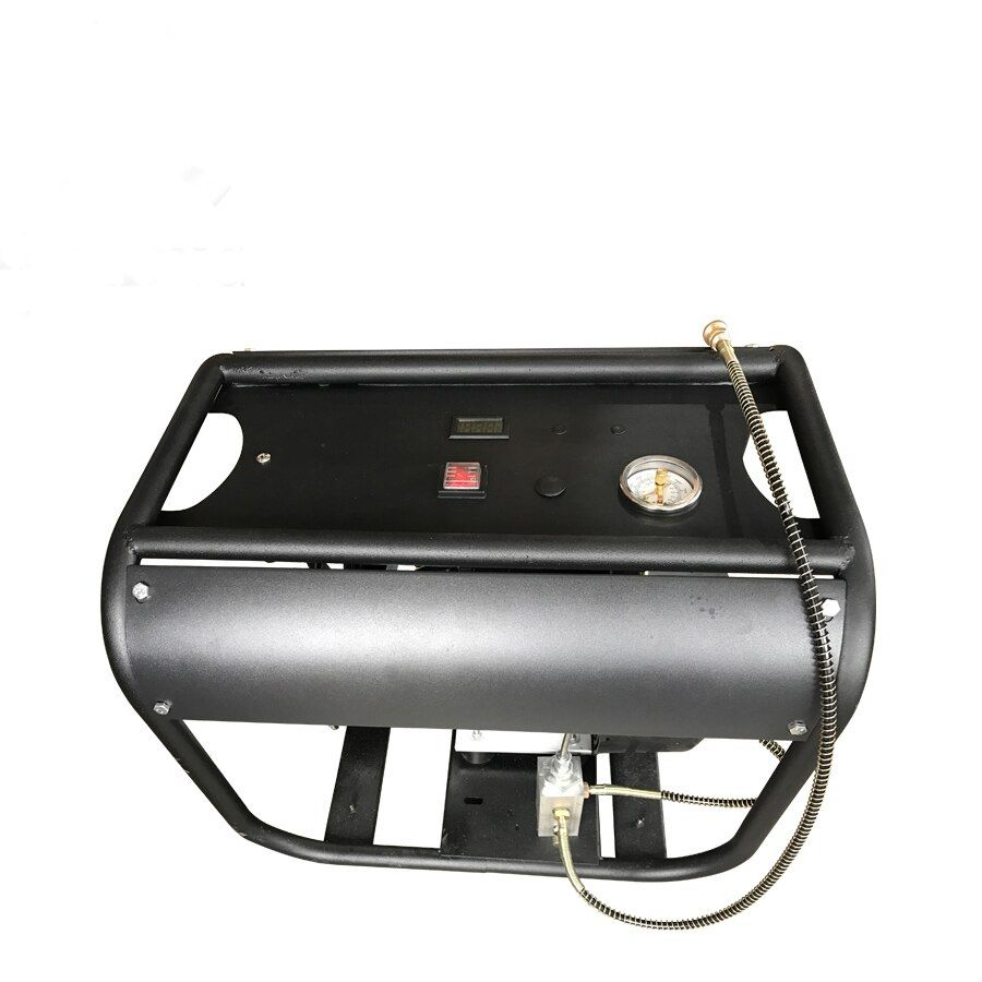 4500PSI 300bar 30mpa Adjustable auto stop function Electric double Cylinder air compressor for PCP air tank gas filling 1 pcs