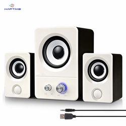 Notebook Desktop Computer Mini Speaker USB Powered Audio Multimedia Home Computer Speaker Active Multimedia Stereo Subwoofer