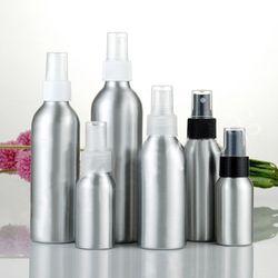 30/50/100/120/150/250 ml Portable En Aluminium Vaporisateur Atomiseur Rechargeable Vide Pompe atomiseur Bouteilles Pour L'emballage Cosmétique