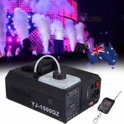 1500 W Brouillard Machine À Fumée Brumisateur Machine DMX contrôleur avec télécommande DJ Éclairage de Scène