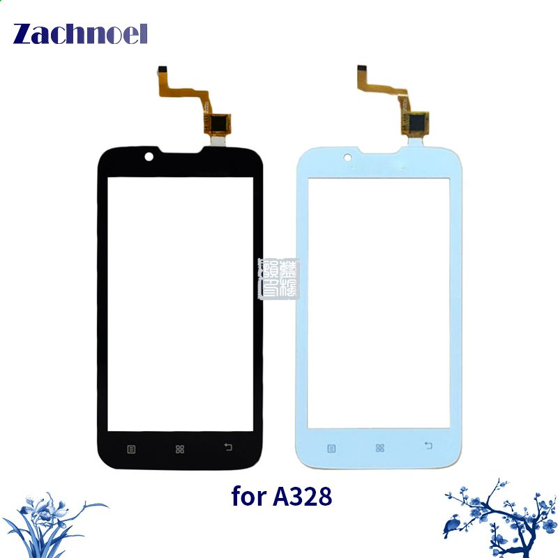 4.5 Inch Touchscreen for Lenovo A328 A328T Touch Screen Digitizer Sensor Lens Front Glass Touch Panel Replacement Parts