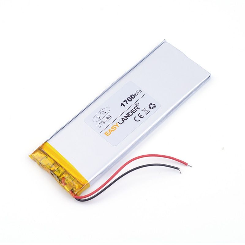 lithium ion rechargable battery 373689 1700mAh for China Note5 Clone n9200 MTK Android Smart Phone