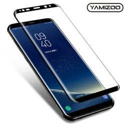En Verre trempé Pour Samsung Galaxy S8 Plus Protecteur D'écran 3D Full couverture Pour Samsung Galaxy S8 Plus Note 8 Verre De Protection Sur