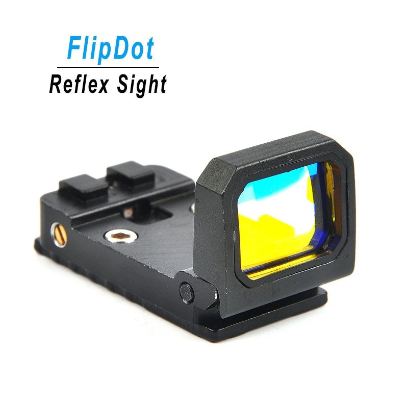 Tactical Flip Red Dot Anblick Holographic Reflex Sight Jagd Scopes für Airsoft