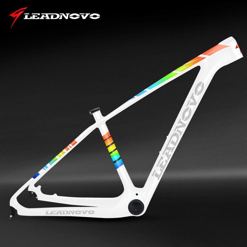 LEADNOVO 27.5/29er pf30 mtb carbon bike frame mountain bicycle frameset bicicletas mountain bike 950g chinese carbon frames
