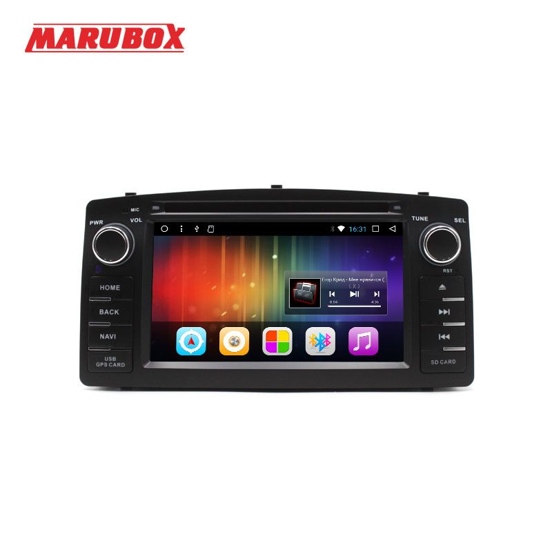 MARUBOX 2 Din Car Multimedia Player For Toyota Corolla E120 2003-2006 BYD F3 Android 7.1 2GB RAM 32GB ROM DVD GPS Radio 6A900DT3