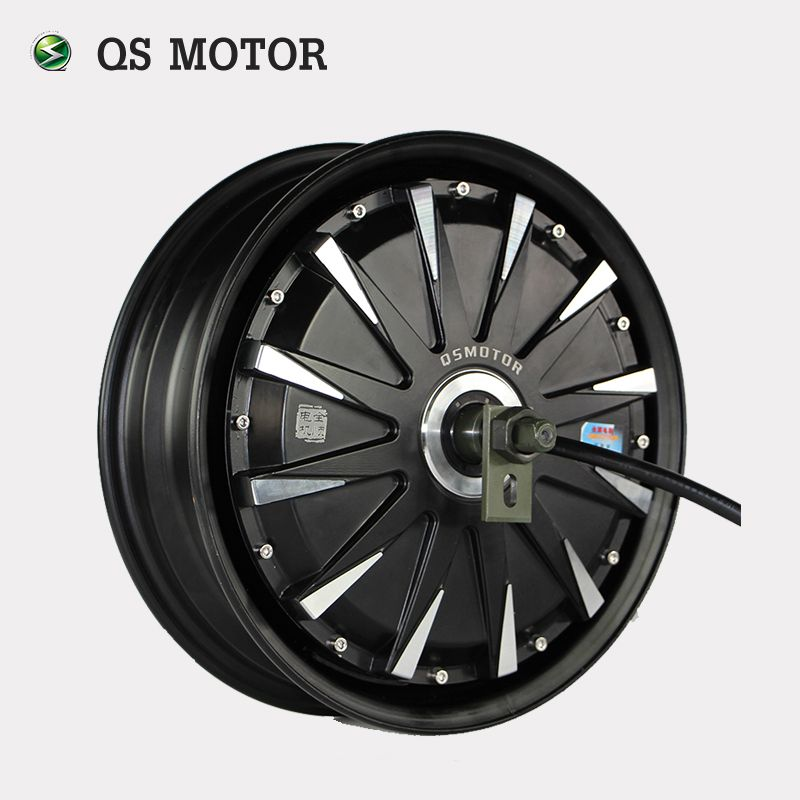 QS Motor 12inch 260 5000W Electric Motorcycle Kit/E Motorcycle Kit / Electric Motorcycle Conversion Kit