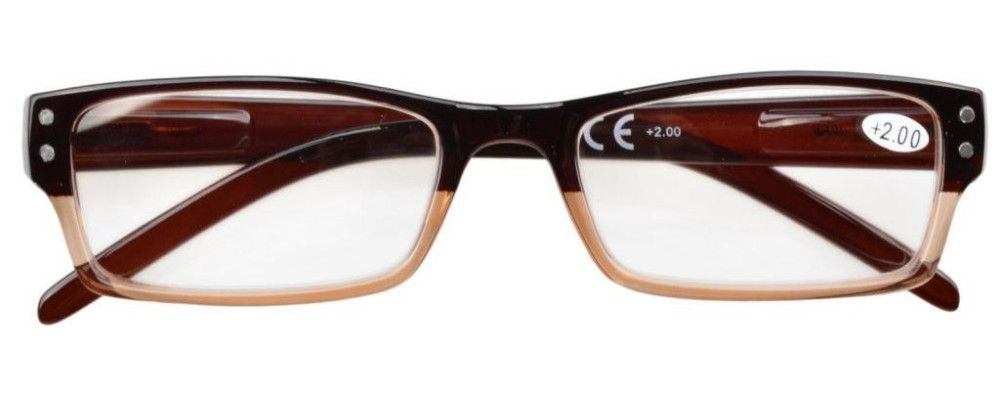 Spring Hinges Reading Glasses Men Women With Case AQ78-100