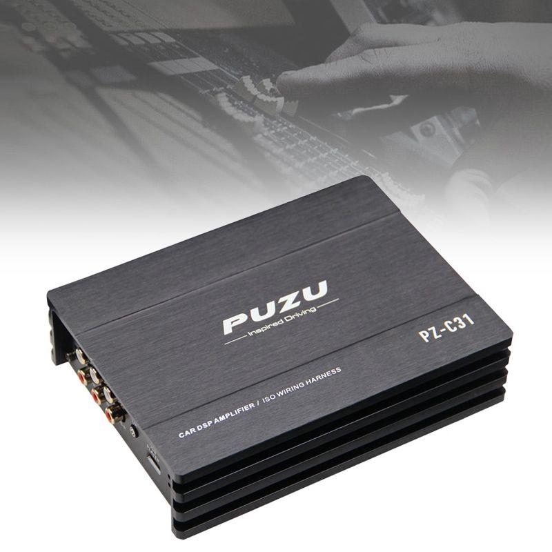 12 V 31 Bands 4x150 W Auto Digitale Audio Prozessor DSP Verstärker Bluetooth WIFI für Computer Telefon EQ hohe Präzision Tuning