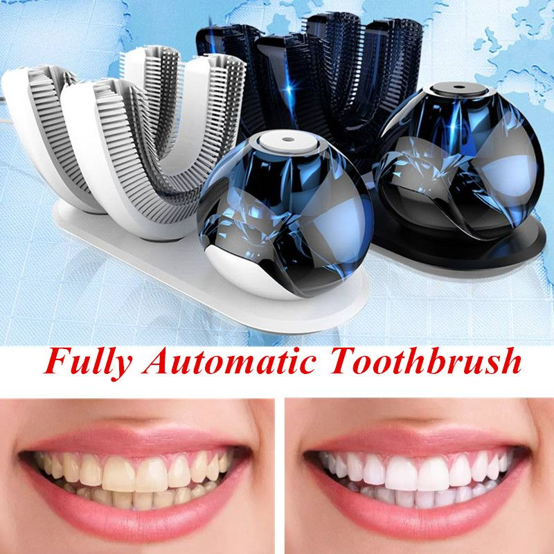 In stock ! Oral Hygiene Fully automatic rechargeable electric toothbrush Ultrasonic 360 degree intelligent automatic toothbrush