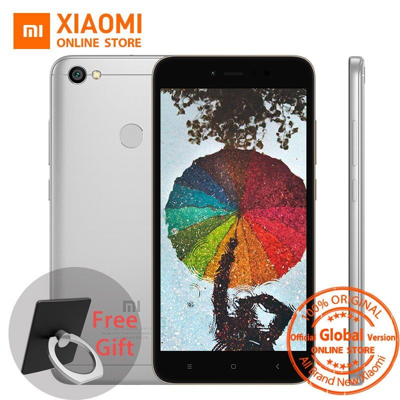 Global Version Xiaomi Redmi Note 5A 5 A 3GB 32GB Mobile Phone Snapdragon 435 Octa Core CPU 16.0MP Front Camera Fingerprint MIUI9